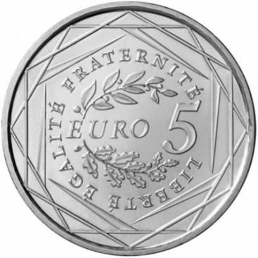 5 Euro argent semeuse 2008
