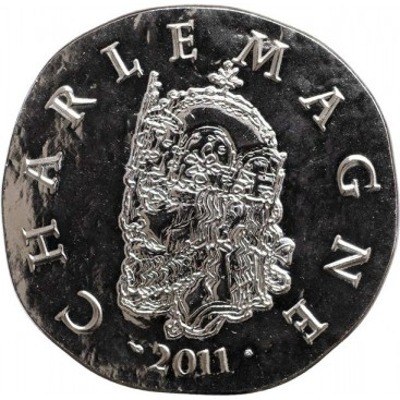 10 Euro CHARLEMAGNE 2011