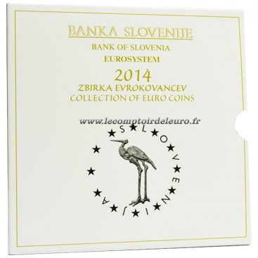 coffret belle épreuve Slovénie 2014