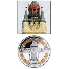 BU BELGIQUE 2008 avec médaille couleur