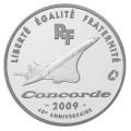 European Mintmark : 40ème anniversaire du premier vol du Concorde - 10 Euro Arg BE 2009