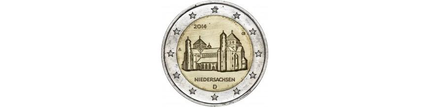 PIECES DE 2 Euro ALLEMANDES