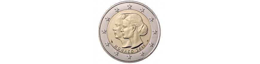 2 EURO COMMEMORATIVES MONACO