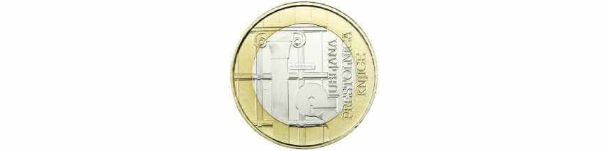 3 EURO COMMEMORATIVES SLOVENIE