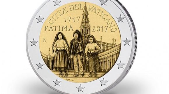 2 euro vatican 2017 - 100e Anniversaire de l'apparition de Fatima